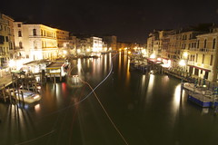 impronte (maybemaq) Tags: longexposure bridge venice light italy holiday tourism water night river boats lights boat canal october italia ship traffic ships footprints tourist ponte transportation midnight motorcycle lighttrails backpacker turismo venezia footprint recent rialto piaggio ponterialto impronte veneto canalgrande maybemaq the4elements impronto canaasso roadtorome stradaperroma blinkagain roadtoroma