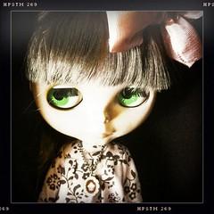 Lunas Green eyes