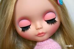 Nicole's eyelids :)