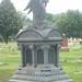 Iowa graveyard tombstone