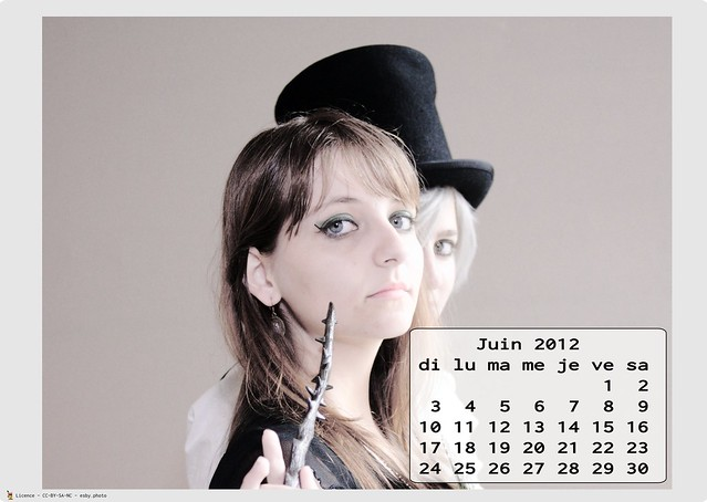 Calendrier Cosplay 2012 - 06 - juin