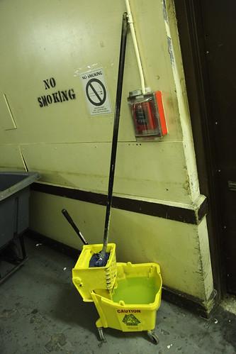 Ecto cooler mop bucket