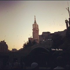Makkah (Aeer) Tags: square squareformat rise makkah      iphoneography instagramapp uploaded:by=instagram