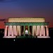 Dusk at the Lincoln Memorial