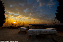 221/365 [365 Project] - Sunset with Benches and Table (Stefano.Minella) Tags: new sunset photoshop canon project bench table eos photo day with post 33 © some 7d production tries 365 usm benches 221 efs 1022mm stefano lightroom 2011 minella f3545 cs5 221365 221st mygearandme mygearandmepremium mygearandmebronze mygearandmesilver mygearandmegold mygearandmeplatinum mygearandmediamond