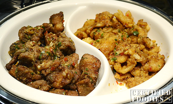 Salt and Pepper Pork Ribs, and Salt and Pepper Squid