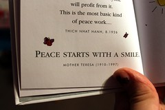 Sm:)le (Snow-cone.tumblr) Tags: white smile paper book peace with mother teresa sheet snowcone starts smle tumblr