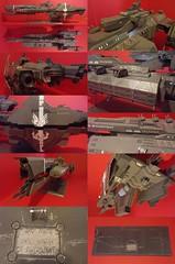 Halo Frigate (Ardrich_Keybus) Tags: model ship space halo reach frigate