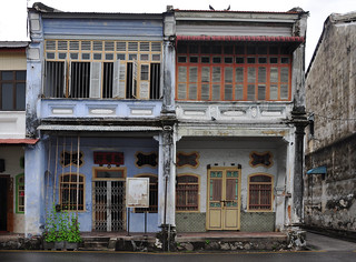 classic shophouses, George Town, Penang