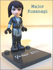 Ghost in the Shell (M.R. Yoder) Tags: friends anime toy major paint lego space ghost shell hobby plastic scifi custom kusanagi minidoll