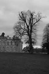 Compton verney, Gloucestershire, December 2011 (daniella 16) Tags: winter sky blackandwhite cold building grass architecture photography grey countryside location tourist gloucestershire historical mansion comptonverney