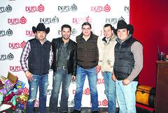 Manolo Robles, Eliseo Robles, Israel Gutierrez, Aris Carcano y Roberto Nago