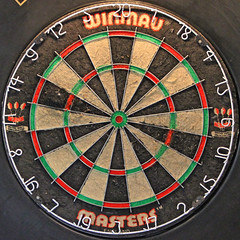 dartboard (Leo Reynolds) Tags: canon eos iso3200 board dartboard 7d squaredcircle dart f40 70mm sqlondon hpexif 0017sec xleol30x sqset072