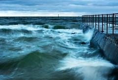 The Jetty (Ranga 1) Tags: ocean sea nature wet water nikon waves jetty australian windy australia melbourne portphillipbay davidyoung middlepark nikonflickrawardgold afsnikkor50mm14g