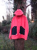 Folk Rainmac. (Nicolas Ticklish) Tags: red salmon twotone pinkjacket rainmac folkclothing folkrainmac paleredfolk folkrainmacpink paleredfolkjacket