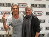 Former Wings guitarist Laurence Juber (with Breakfast With the Beatles host CHRIS CARTER)