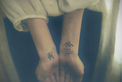 (i'm a witch) Tags: friends film tattoo self arms grain scan susie angelica rugrats