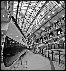 Discovery Museum, Newcastle upon Tyne. (CWhatPhotos) Tags: pictures uk white fish black eye monochrome by museum canon newcastle that lens eos rebel prime boat photo foto with view image photos picture images tyne steam fisheye photographs photograph f manual 35 discovery which has manualfocus turbine contain upon xsi powered fisheyelens f35 65mm aspherical containing opteka primelens turbinia fisheyeview 450d rebelxsi opteka65mm cwhatphotos