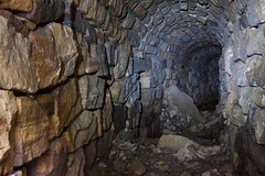 In Mysterious Places (robertandrewbell) Tags: underground tunnel hiddenworld stonetunnel