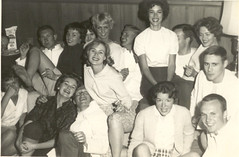 The In Crowd, circa 1965 (STUDIOZ7) Tags: girls party college boys suburbia teens smoking highschool american 1960s cigarettes