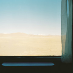 车窗 (richardhwc) Tags: china 120 6x6 film train mediumformat kodak tibet bronica s2 tibetanplateau portra400 75mmf28 nikkorp t264