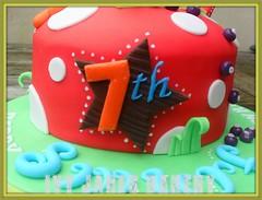 HAPPY SMURF-DAY!! (Ivy Jane's Bakery) Tags: birthday boy cake toadstool smurf smurfs