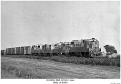 ICG 9635, 8095, 8212 & 1 more (Robert W. Thomson) Tags: railroad train ic louisiana diesel railway delta trains locomotive trainengine icg geep emd gp382 gp9 gp38 gp30 gp7 gp10 illinoiscentralgulf fouraxle illinoiscental
