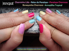 Skittles nails/rainbow nails (esmaltadamente) Tags: unhascoloridas rainbownails skittlesnails
