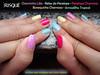 Skittles nails/rainbow nails (Blog Miky Braga) Tags: unhascoloridas rainbownails skittlesnails