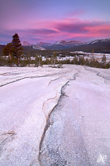 Over the River and Through the Woods - Pothole Dome, Tuolumne Meadows, Yosemite National Park (Joshua Cripps) Tags: sunset mountains nationalpark yosemite granite cracks sierranevada mountdana tuolumnemeadows tiogapass lembertdome tuolumneriver mtdana lenticularclouds mammothpeak mtgibbs potholedome mountgibbs indurotripod leegndfilters nikond7000 acratechballhead