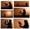 Silhouette   (( 6 PHOTOs )) (RASHID ALKUBAISI) Tags: sunset sun nikon f3 nikkor d3 2012 qatar rashid راشد بوخليفة خليفة بوخليفه d3x alkubaisi d3s الكبيسي ralkubaisi nikond3s mygearandme wwwrashidalkubaisicom