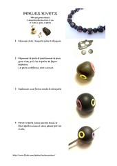 Tuto perle rivets (ToutEnCouleur) Tags: color diy fimo tutorial perle tuto rivet polymer tutoriel
