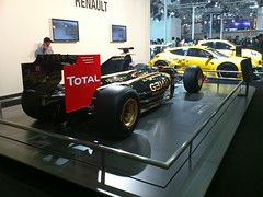 (Bikram singh rana) Tags: india delhi f1 renault flickrandroidapp:filter=none autoexpo2012