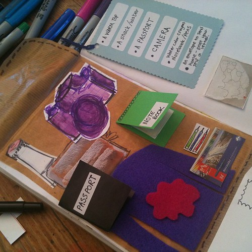 Kids want me to stop working for lunch... Some one pop over and make an instant cover for my @arthouse notebook.