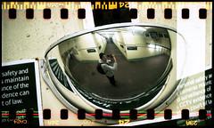Lubitel 166 U + 35mm film (danielcane) Tags: people man reflection film station train 35mm underpass person sussex reflecting mirror lomo fuji scanner superia interior reflect 35mmfilm u lubitel epson fujifilm universal mm analogue 35 eastsussex concourse sprocket sprockets 166u fujisuperia 166 colournegative rebate barnham c41 sprocketholes v500 epsonv500 epsonv500scanner exposedsprockets exposedsprocketholes lubitel35mm