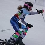 Teck Enquist Slalom, January 2012, Mt. Seymour - Maggie Tuer (WMSC) PHOTO CREDIT: Steve Fleckenstein