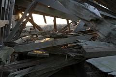 Wooden Beams (abandonednyc) Tags: nyc newyork abandoned decay shipwreck urbanexploration nautical statenisland arthurkill boatgraveyard