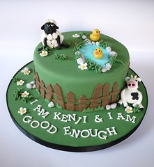 Barnyard Animals Cake