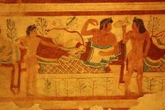Tomba dei Leopardi (@@@@@) Tags: tomb paintings tombs dei tomba necropolis etruscan tarquinia tombe etruria leopardi dipinto etruschi necropoli etruscans dipinte etrusca etrusco