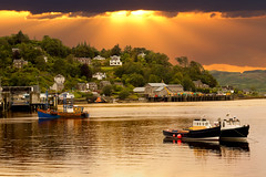 OBAN IV - SCOTLAND - (EXPLORED) (photojordi) Tags: sunset canon eos mark explore 1d oban iv mk4 explored photojordi mygearandme
