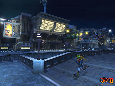 Jak II screenshot 1