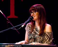 Ingrid Michaelson @ Tractor Tavern (Kirk Stauffer) Tags: show seattle red music food tractor beer festival bar hair menu restaurant glasses ginger washington concert long wine folk gig livemusic drinking pop redhead eat drinks alcohol singer indie ballard popup redhair fiery 2012 soldout singersongwriter tractortavern 2412 thewayiam ingridmichaelson d700 humanagain popupshow kirkstauffer