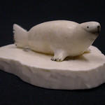 "<b>Seal on Base</b><br/> B. T. or J. Seal on Base Ivory, ca. 1976 LFAC #2008:01:16<a href=""http://farm8.static.flickr.com/7142/6835906313_db48ec6d95_o.jpg"" title=""High res"">∝</a>"