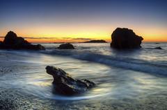 Cala Flores Cartagena (Legi.) Tags: ocean espaa flores sunrise mar spain cabo nikon europa europe amanecer 1855mm espagne cartagena vr cala palos afs ocano meditarrneo d5100