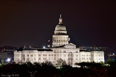190/365: Chasing the Capitol (OscarAmos) Tags: architecture night austin downtown texas roundrock hdr lightroom 18200mm project365 exiftool topazadjust exposurefusion nikond5100