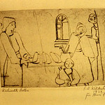 "<b>Weihnachts Stollen</b><br/> Frans Wildenhain ""Weihnachts Stollen"" Etching, 1932 LFAC # 770<a href=""http://farm8.static.flickr.com/7142/6852375111_2fb4f526c4_o.jpg"" title=""High res"">∝</a>"