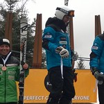 Keurig Cup Spring Series, Whistler - Women's GS day 2 - 1st Jocelyn McCarthy; 2nd Mia Henry; 3rd Charley Field