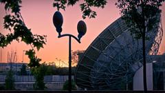 Parabólica pabellón del espacio Expo 92 Sevilla
