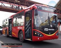 Masa C11R CE4 05A (infecktedbusgarage) Tags: bus mexico camion autobus masa l6 cummins brt gmt metrobus busrapidtransit alimentador transitbus cdmx sunwin c11r ce417msa grupometropolitanodeltransporte