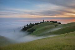A great start to fog season! (pixelmama) Tags: california sunset fog marincounty mounttam millvalley mounttamalpaisstatepark pixelmama